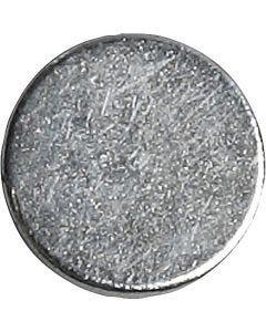 Supermagnet, D: 10 mm, Stärke: 2 mm, 10 Stck./ 1 Pck.