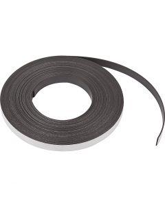 Magnetstreifen, B: 12,5 mm, Stärke: 1,5 mm, 10 m/ 1 Pck.
