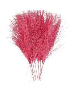 Künstliche Federn, L: 15 cm, B: 8 cm, Pink, 10 Stck./ 1 Pck.