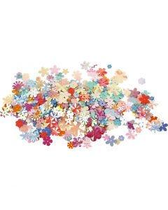 Pailletten - Sortiment, D: 5-20 mm, Sortierte Farben, 250 g/ 1 Pck.