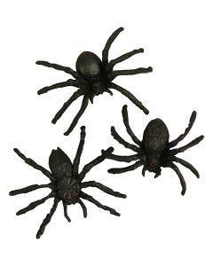 Spinnen, Größe 4 cm, 10 Stck./ 1 Pck.