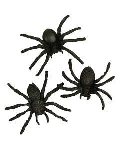 Spinnen, Größe 4 cm, 60 Stck./ 1 Pck.