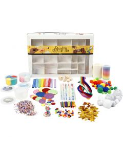 Kreativbox, Regenbogen, 1 Set