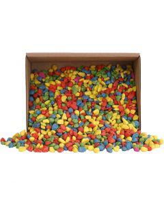 Mosaiksteine, Größe 8-10 mm, Kräftige Farben, 2 kg/ 1 Pck.