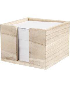 Papierhalter, Größe 9,5x9,5x7 cm, 1 Stck.