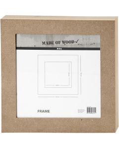 Rahmen, Größe 30,5x30,5 cm, 1 Stck.