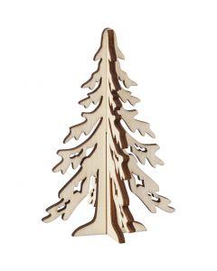 Weihnachtsbaum, H: 12,5 cm, B: 8,5 cm, 1 Stck.