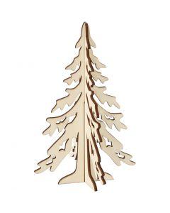 Weihnachtsbaum, H: 20 cm, B: 13 cm, 1 Stck.