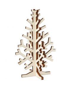 Weihnachtsbaum, H: 12 cm, B: 7,5 cm, 1 Stck.