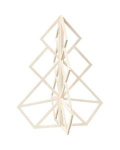 Weihnachtsbaum, H: 60 cm, B: 48 cm, 1 Stck.
