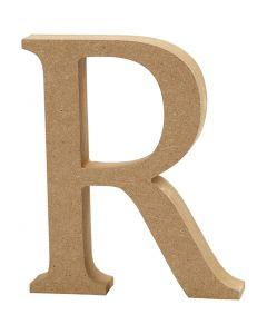 Buchstabe, R, H: 8 cm, Dicke 1,5 cm, 1 Stck.