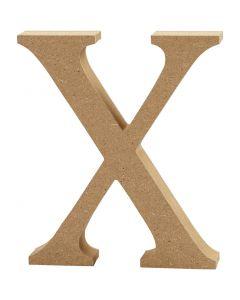 Buchstabe, X, H: 8 cm, Stärke: 1,5 cm, 1 Stck.