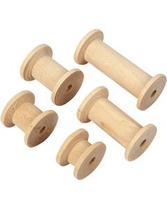 Spule, L: 15+20+27+38+50 mm, D: 24 mm, 10 Stck./ 1 Pck.
