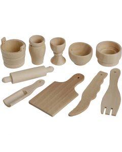 Küchenutensilien, L: 40-60 mm, 50 Stck./ 1 Pck.