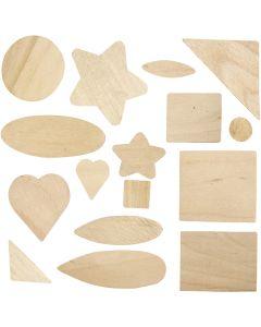 Mosaik-Formen, Größe 1,3-5,5 cm, 60 Stck./ 1 Pck.