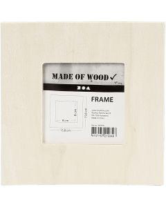 Rahmen, Größe 15,8x15,8 cm, 1 Stck.