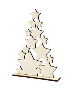 Weihnachtsbaum, H: 29,8 cm, B: 21,5 cm, 1 Stck.