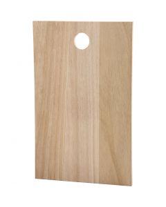 Platte / Schneidbrett, Größe 35x22 cm, Stärke: 13 mm, 1 Stck.