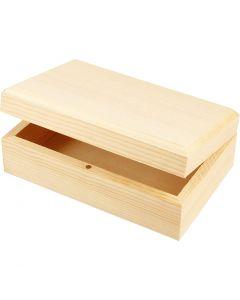 Holzkasten, Größe 14x9x5 cm, 1 Stck.