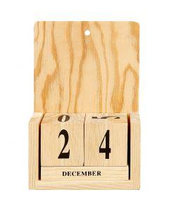 Kalender, Größe 13x5,5x19,2 cm, 1 Set