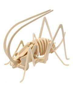 3D-Holzpuzzle, Grille, Größe 22,5x15x18 cm, 1 Stck.