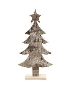 Holz-Weihnachtsbaum, H: 26 cm, B: 13 cm, 1 Stck.