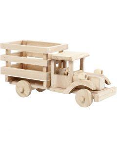 Lastwagen, H: 11 cm, L: 22 cm, B: 7,5 cm, 1 Stck.