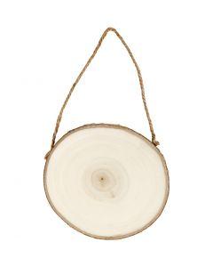 Türschild, D: 12-14 cm, Stärke: 1,5 cm, 1 Stck.