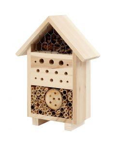 Insektenhotel, H: 26,1 cm, B: 18,4 cm, 1 Stck.