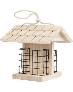 Vogelfutterstation, H: 17.5 cm, L: 11.6 cm, B: 13,5 cm, 1 Stck.
