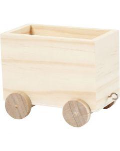 Spielzeug-Zugwagen, H: 8 cm, L: 9,5 cm, B: 6,5 cm, 1 Stck.