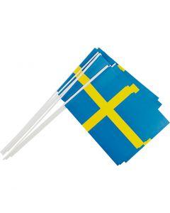Partyflagge, Größe 20x25 cm, 10 Stck./ 1 Pck.