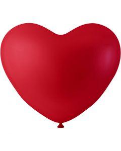Ballons in Herzform, Herz, Rot, 8 Stck./ 1 Pck.