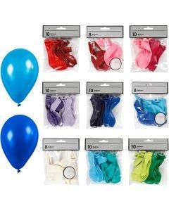 Ballons - Sortiment, Sortierte Farben, 30 Pck./ 1 Pck.