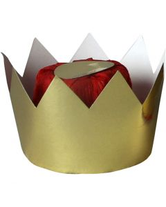 Königinnenkrone, H: 7 cm, D: 9 cm, 1 Stck.