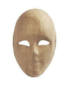Maske, H: 23 cm, B: 16 cm, 1 Stck.