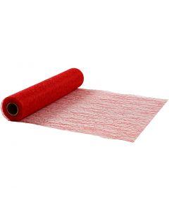 Tischläufer, B: 30 cm, Rot, 10 m/ 1 Rolle