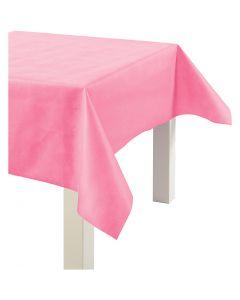 Tischdecke aus Stoff-Imitat, B: 125 cm, 70 g, Pink, 10 m/ 1 Rolle