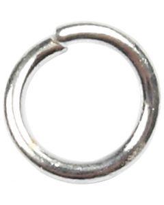 Biegering, Größe 4,4 mm, Stärke: 0,7 mm, Versilbert, 500 Stck./ 1 Pck.
