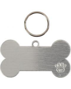 Hundeanhänger-Set, Größe 40 mm, 4 Set/ 1 Pck.