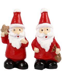 Miniatur-Figuren, H: 35 mm, B: 17 mm, 2 Stck./ 1 Pck.