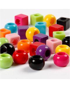 Multimix, Größe 11 mm, Lochgröße 7 mm, Sortierte Farben, 1700 ml/ 1 Pck., 1000 g