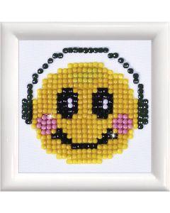 Diamand Dotz, Smiley, Größe 7,6x7,6 cm, 1 Pck.