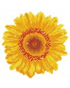 Diamond Dotz, Sonnenblume Happy Day, Größe 20x20 cm, 1 Pck.