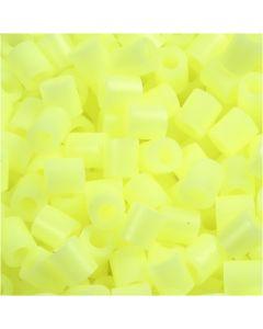 Bügelperlen, Größe 5x5 mm, Lochgröße 2,5 mm, medium, Pastellgelb (32244), 6000 Stck./ 1 Pck.