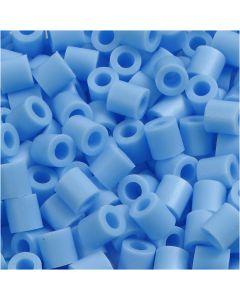 Bügelperlen, Größe 5x5 mm, Lochgröße 2,5 mm, medium, Pastellblau (32224), 6000 Stck./ 1 Pck.