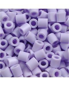 Bügelperlen, Größe 5x5 mm, Lochgröße 2,5 mm, medium, Flieder (32245), 6000 Stck./ 1 Pck.