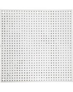 Steckbrett, Großes Quadrat, Größe 14,5x14,5 cm, 10 Stck./ 1 Pck.