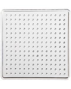 Steckbrett, Kleines Quadrat, Größe 7x7 cm, 10 Stck./ 1 Pck.