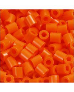 Fotoperlen, Größe 5x5 mm, Lochgröße 2,5 mm, Orange (13), 6000 Stck./ 1 Pck.